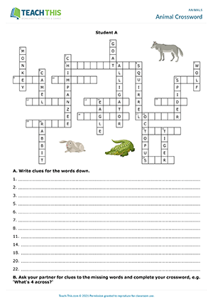 Animals ESL Games Activities