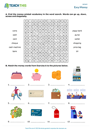 For esl exercises vocabulary English Vocabulary