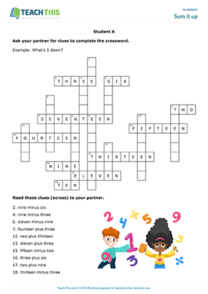 Numbers ESL Activities Games Worksheets